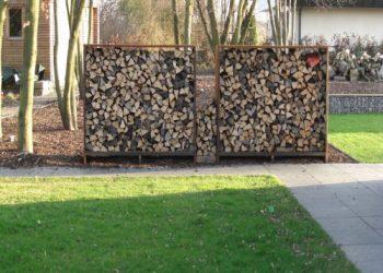 Grupe Schweisstechnik: Corten Holzlager