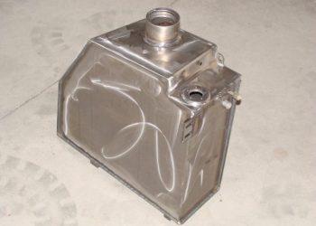 Grupe Schweisstechnik: Kraftstofftank Stahl, MAG WIG Schweißen