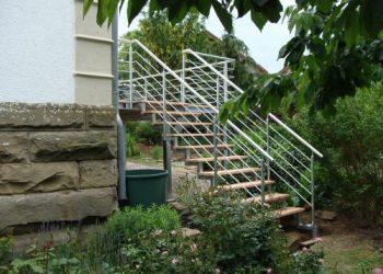 Grupe Schweisstechnik: Treppenaufgang Balkon