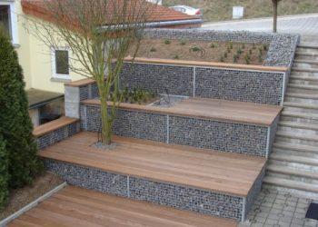 Grupe Schweisstechnik: Terrasse - Gabione